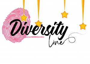 Logotipo Diversity Line con detalles navideños.